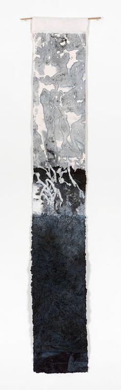 Jennifer Davies - Collages - Slate, pigment, handmade paper