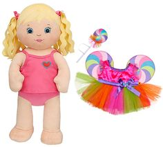 NEW Build a Bear Workshop Friends 2B Made Blonde Large 17 in. Stuffed Plush Doll with Lollipop Candy Fairy Dress Outfit Brand New with Tags Retired BAB Collectible Toy Set In Stock Now at http://www.bonanza.com/listings/New-Build-a-Bear-Friends-2B-Made-Blonde-17-in-Doll-with-Lollipop-Outfit-Dress/268803241