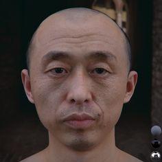 Realistic Human Head study | CG Daily News