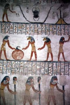 Mural from Chamber I in th...