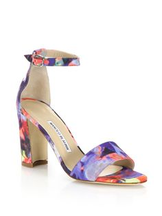 Laurato Printed Sandals