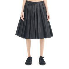 Junya Watanabe Polyester Skirt (985 BAM) via Polyvore featuring skirts, junya watanabe and junya watanabe skirt