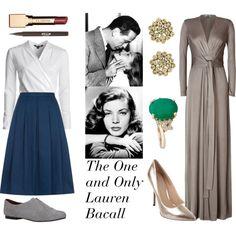 Inspired by Lauren Bacall's timeless style. Classic Beauty, Classic Style, My Style, Timeless Fashion, Vintage Fashion, Vintage Style, Lauren Bacall, New Wardrobe, Feminine
