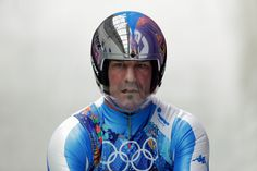 Armin Zoeggeler of Italy finishes a run during the Luge Relay Bobsleigh, Luge, Olympic Committee, Olympic Athletes, Winter Games, Tokyo 2020, Winter Olympics, Armin, Olympic Games