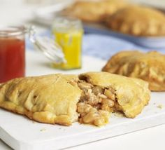 Only five ingredients and perfect for freezing ahead, these tasty pasties make a very handy stand-by