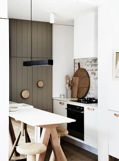 Love these colours Australian Interior Design Awards - 2016 Residential Decoration - Whiting Architects - O'Grady Street Australian Interior Design, Interior Design Awards, Interior Design Kitchen, Home Interior, Küchen Design, Home Design, Design Ideas, Kitchen Dining, Kitchen Decor