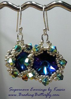 Supernova Earrings Tutorial - Personal Version