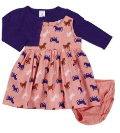 Carter's Baby-girls Cardigan Dress Set. Love this dress
