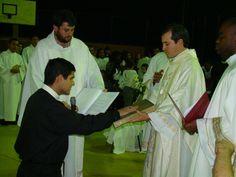 Profissão Religiosa Perpétua  Ir. Raoni (Redentorista) -  31/07/2010 - Paróquia Sagrada Família - Nov a Rosa da Penha - Cariacica - E. S.