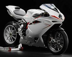 2013 MV Agusta F4 white