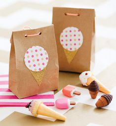 Ice Cream Shoppe Birthday Party Theme for Pottery Barn Kids {+ Free Printables!}