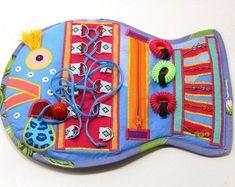 Handmade Montessori Busy Boards Dementia Activities, Toddler Learning Activities, Montessori Activities, Learning Toys, Toddler Crafts, Crafts For Kids, Latch Board, Etsy Handmade