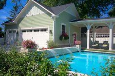 16x24 Classic Pool design & build gunite pool.