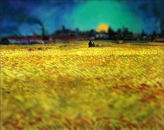 Des peintures de Van Gogh avec un effet Tilt-Shift - La boite verte