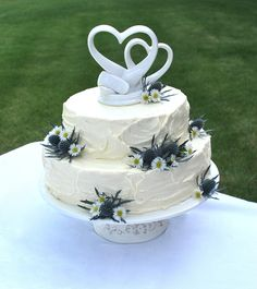 paleo wedding cake recipe and decorating instructions ~ by the paleo fox blog