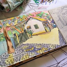 Studying light and colors dwgdaily watercolor colors drawing moleskine