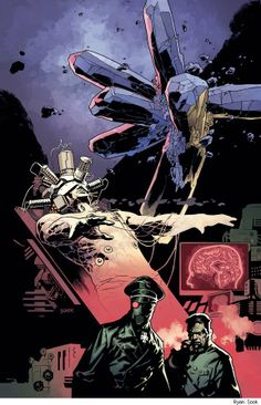 Hell on Earth: Return of the Master 4 cover by Ryan Sook Mike Mignola, Paranormal, Comic Page, Dark Horse, Dieselpunk, Comic Books Art, Art Reference, Cool Art, Concept Art