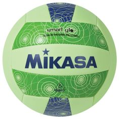 Mikasa Glow In The Dark Official Sized Volleyball Ball
