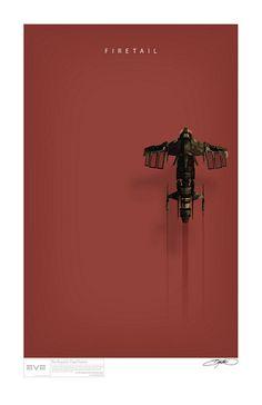 Firetail Art Print | por Bryan K Ward