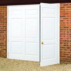 Beau GRP Side Hinged Door Side Hinged Garage Doors, Garage Door Hinges, Carriage  Style Garage