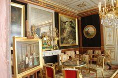 Sala della musica al castello della Malmaison