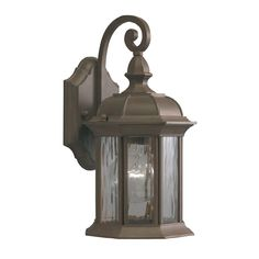 Front Porch light from Lowes