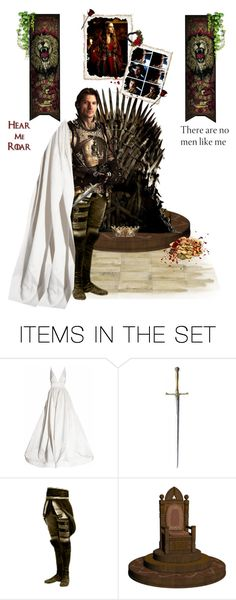 """""""Ser Jaime Lannister"""" by greerflower ❤ liked on Polyvore featuring art"""