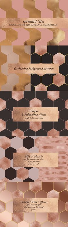 70 Geometric Glam Patterns by Laras Wonderland on Do Perfect, Brand Guidelines, Social Media Template, Floral Illustrations, Motion Design, Background Patterns, Pattern Design, How To Draw Hands, Wedding Invitations