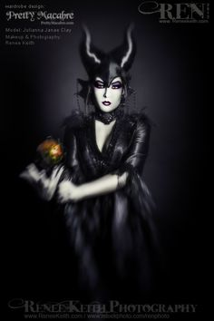 Maleficent - Makeup and Photography by Renee Keith, Costuming by Pretty Macabre