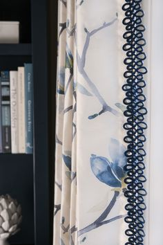 Beautifully Crafted With A Delicate Hand Fabricut S Ashbee Trim Adds Unique Look