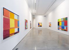 Team Gallery, located New York City. Currently showing Stanley Whitney.
