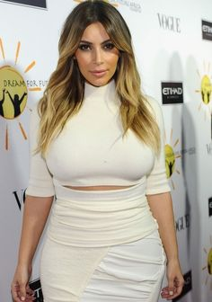 October 24, 2013 - Kim at the Dream for Future Africa Foundation Inaugural Gala in Beverly Hills.