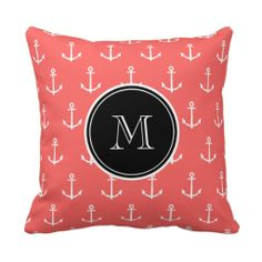 ==> consumer reviews          Coral White Anchors Pattern, Black Monogram Throw Pillows           Coral White Anchors Pattern, Black Monogram Throw Pillows Yes I can say you are on right site we just collected best shopping store that haveThis Deals          Coral White Anchors Pattern, Bla...Cleck Hot Deals >>> http://www.zazzle.com/coral_white_anchors_pattern_black_monogram_pillow-189642937123035899?rf=238627982471231924&zbar=1&tc=terrest