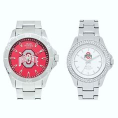 Get #GoBucks ready in one of our Ohio State #JMCollegiate watches.