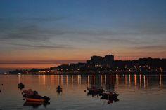 Pôr do Sol no Porto.
