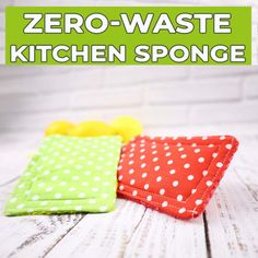 Kitchen sponge alternative