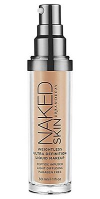 Urban Decay Naked Skin. The 1st foundation I wore in public and it was a hit. Expensive, but well worth a night out in town.