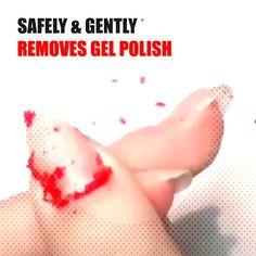 #gelnailstips #soakoff #remover #however #polish #having #remove #strong #comes #magic #nails #great #super #look #w... Remove Shellac Polish, Magic Nails, Gel Nails, Strong, Gel Nail
