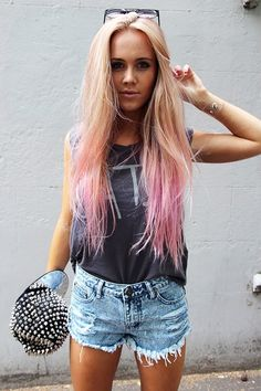 Hair color is on point!