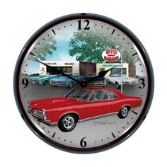 Make your favorite room glow with the retro power from this 1967 GTO Lighted…