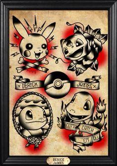 I like the idea of these Americana style pokemon.