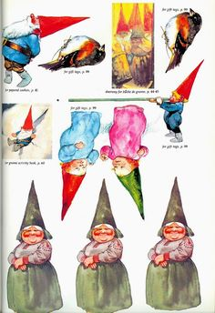 The Gnomes Book of Christmas Crafts (+ a Free Printable!)