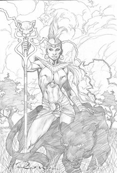 Storm by Ron Adrian - Visit to grab an amazing super hero shirt now on sale! Black And White Comics, Black And White Sketches, Comic Books Art, Comic Art, Comic Character, Character Design, Storm Marvel, Marvel Universe, Comic Drawing
