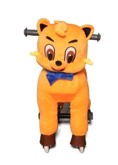 MYHORSESCOOTER Cat Ride-On, Small, Orange | Your #1 Source for Toys and Games