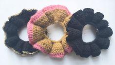 Hæklet Scrunchie