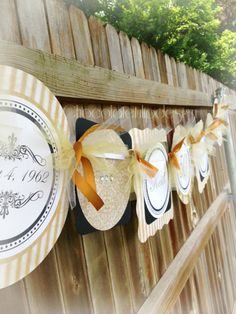 Hey, I found this really awesome Etsy listing at https://www.etsy.com/listing/105813388/50th-wedding-anniversary-banner-gold-and