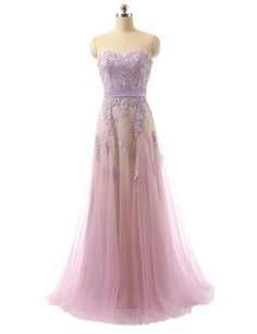 Custom Made Real Picture Lavender Formal Maternity Dresses Women Strapless Evening Dress,Appliques Lace Tulle Robe De Soiree Long Party Gown,Sexy Prom Dresses