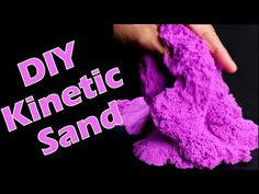 Diply Crafty | DIY Kinetic Sand! | Baby First TV | Crafty by Diply - YouTube Preschool Science, Preschool Classroom, Classroom Ideas, Baby First Tv, Diy Kinetic Sand, Home Crafts, Kid Crafts, Craft Projects For Kids, Baby Time