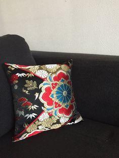 Obi / Kimono / Pillow / BK749 Beautiful Embroidery Obi Pillow by RummyHandmade on Etsy