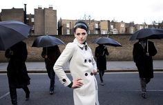 ANDRE BADI Fashion shot in London by BF Alessandro Volpi - Gaby Hernández , via Behance